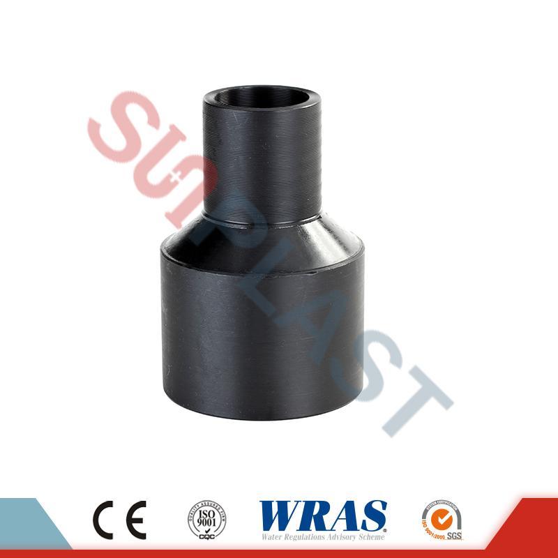 Riduttore di fusione testa in HDPE