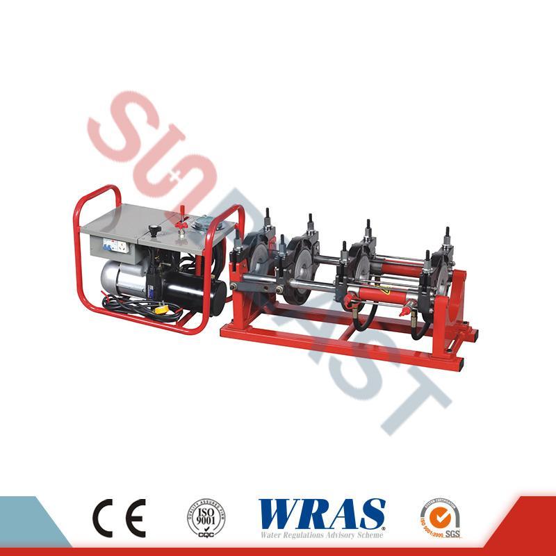 Saldatrice idraulica di fusione di estremità 90-250mm per il tubo dell'HDPE