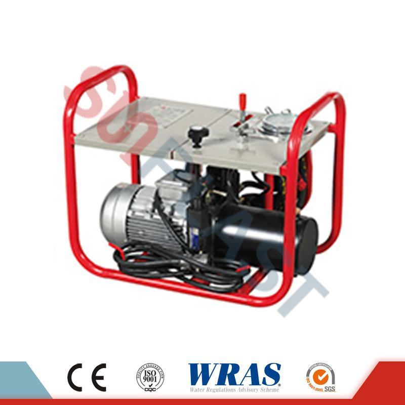 Saldatrice manuale / idraulica di fusione di estremità di 63-200mm per il tubo dell'HDPE